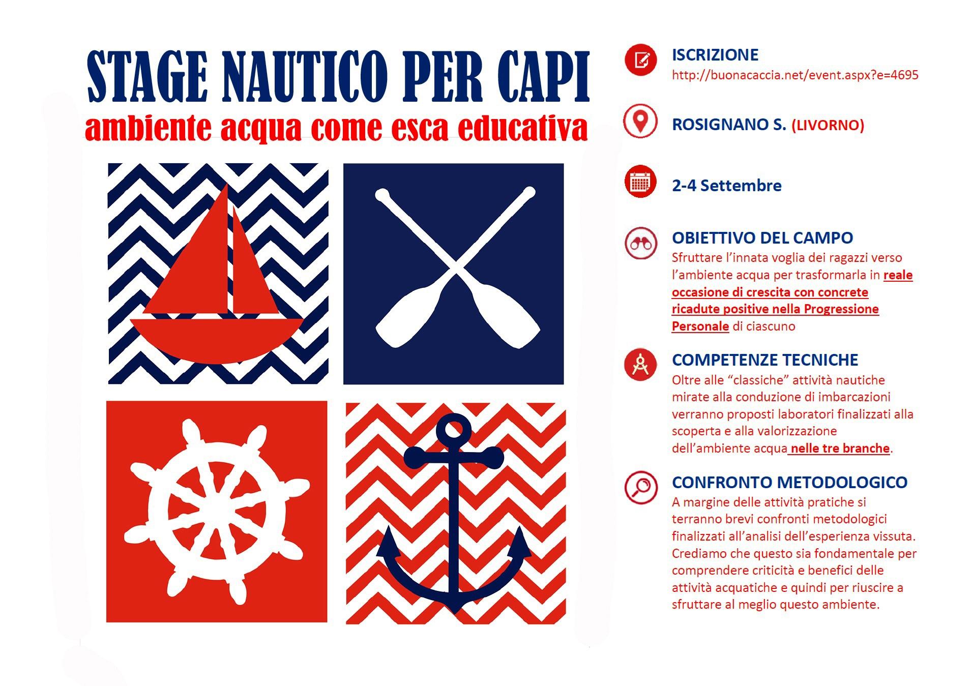 manifesto stage nautico 2016